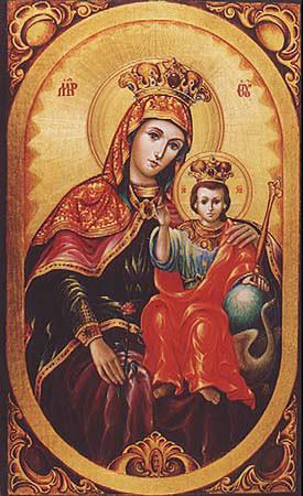 Je mariamu ndiye ndiye malkia wa mbinguni
